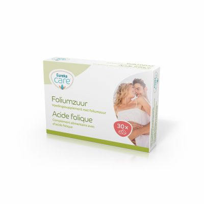 Eureka care Foliumzuur Tabletten 30 stuks