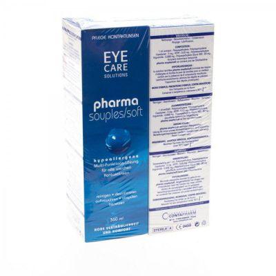 Eye Care Pharmasoft Hypoallergene Lösung 2x360ml