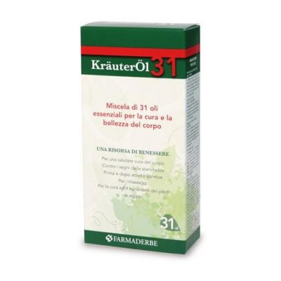 Farmaderbe Krauterol 31 Miscela di Oli Essenziali Oli essenziali 100ml