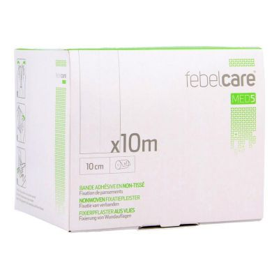 Febelcare Med5 non-woven Fixierpflaster 10cmx10m 1 Stück
