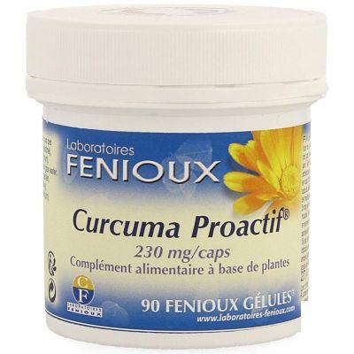Fenioux Curcuma Proactif Capsules 90 pièces
