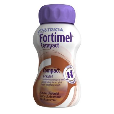 Fortimel compact chocolat Boisson 4x125ml