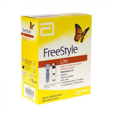 Freestyle lite maintenance kit 150+100 stuks