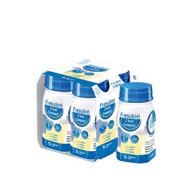 Fresubin 2KCal Compact Drink vanille Drankje 4x125ml