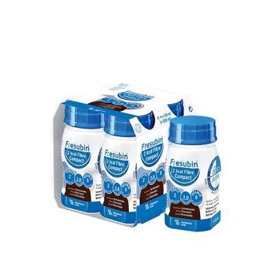 Fresubin 2KCal Fibre Compact Drink chocolat Boisson 4x125ml