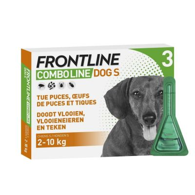 Frontline Combo Line Hund S 2-10kg Pipette 3 Stück