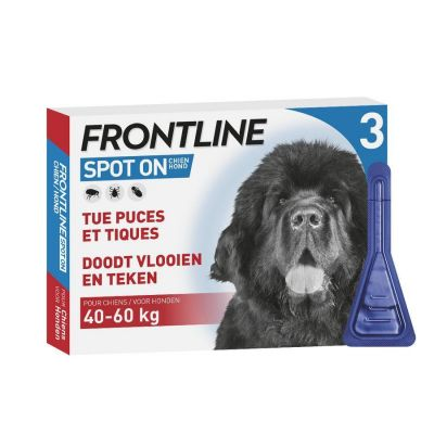 Frontline Spot-on Dog XL 40-60kg  Pipette 3x4,02ml