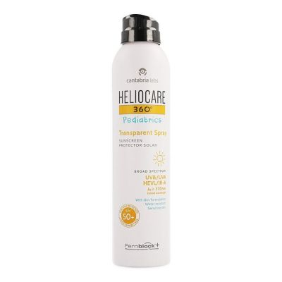 Heliocare 360° Pediatrics Transparent Spray 200ml
