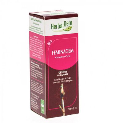 Herbalgem feminagem complexe cycle Gouttes 50ml
