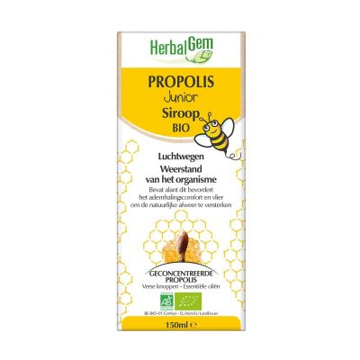 Herbalgem Propolis junior bio Siroop 150ml