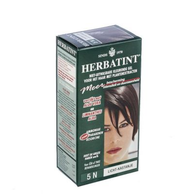 Herbatint gel permanent chatain clair Gel 150ml