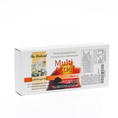 Herborist Multi actief Ampullen 20x10ml