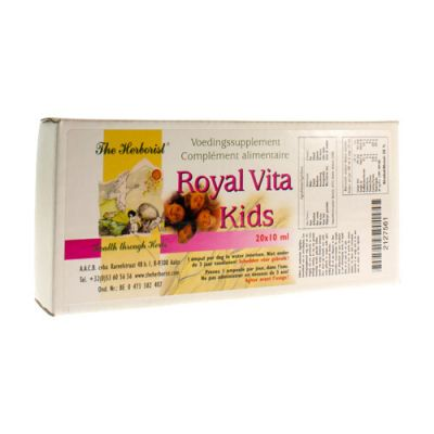 Herborist Royal vita kids Ampullen 20 stuks