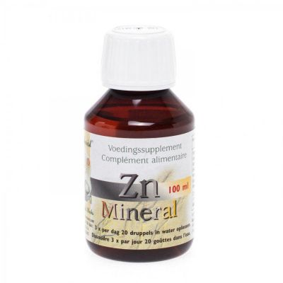 Herborist zn-mineral Solution orale 100ml
