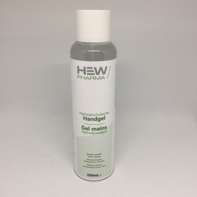 Hew-Pharma Gel hydroalcoolique  Gel 200ml
