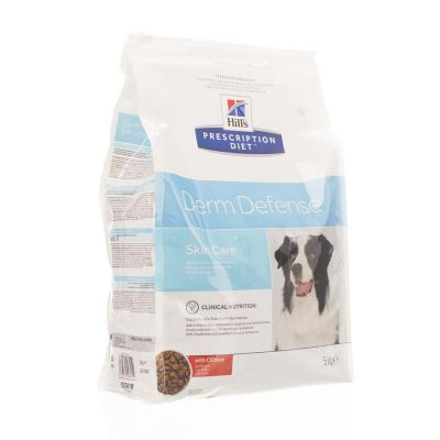 Hills prescription hond Derm Defence Skin Care Droge brokjes 5kg
