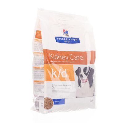 Hills prescription k/d chien Sachet 5kg