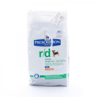 Hills Prescription R/D Hund mini  Tüte 6kg