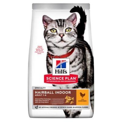 Hills Science plan Feline adult hairball indoor Sachet 3kg