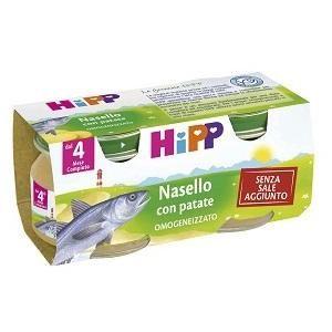 Hipp Omogeneizzato Nasello Patate 80g