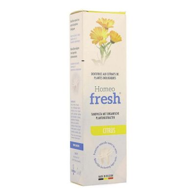 HOMEOFRESH TANDPASTA CITROEN Dentifrice 75ml