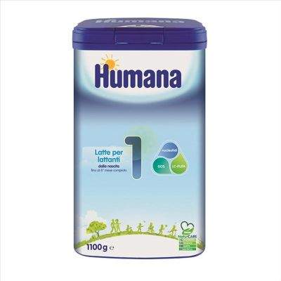 Humana 1 Natcare Polvere 1100g