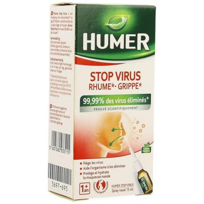 Humer Stop Virus Spray Nasal 15ml Spray nasal 15ml