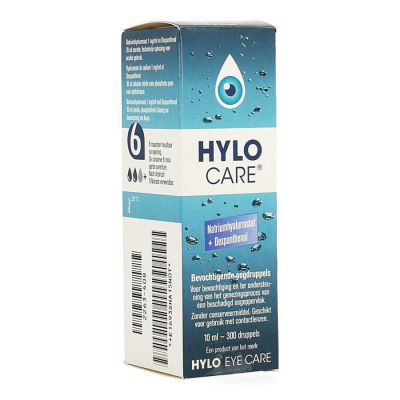 Hylo-care collyre hydratant Gouttes oculaires 10ml