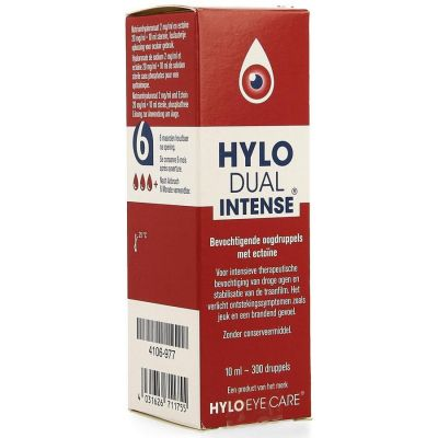 Hylo-Dual Intense Gouttes oculaires 10ml
