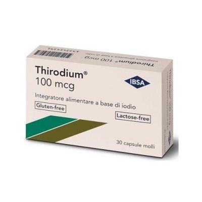 IBSA Thirodium 100 mcg  Capsule molli 30 pezzi