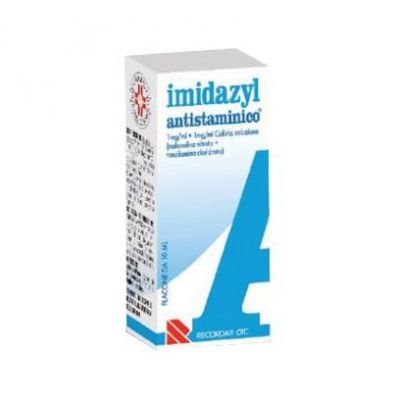 Imidazyl Collirio Antistaminico 1mg/ml + 1mg/ml Gocce oculari 10ml