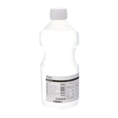 Inflac Steriel water 1000ml