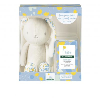 Klorane Baby Box Conejo Azul + agua perfumada Espray 50ml
