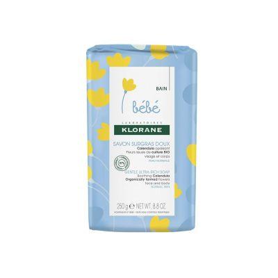 Klorane Jabón graso suave para bebés Barra de jabón 250g