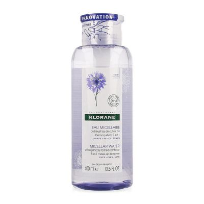 Klorane Micellair water met Korenbloem Micellaire oplossing 400ml