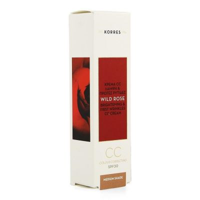 Korres Kf Rose Sauvage Cc Cream SPF30 M 30ml 30ml