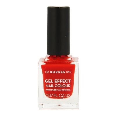 Korres Sweet Almond Gel effect 48 rouge corail Vernis à ongles 11ml