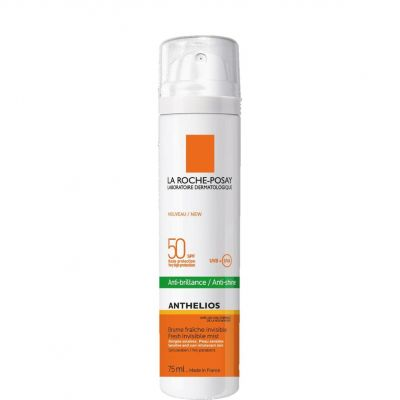 La Roche-Posay Anthelios 50+ Zonnespray gelaatsnevel dry touch Spray 75ml