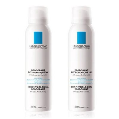 La Roche-Posay déo physiologique Promo Spray 2x150ml