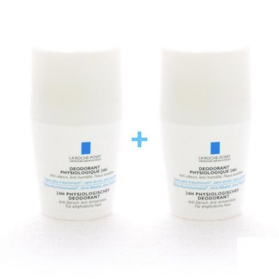 La Roche-Posay Fysiologische deo 24h Promo Roll-on 2x50ml