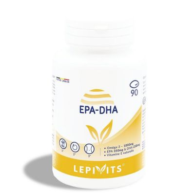 Leppin EPA-DHA Capsules 90 pièces