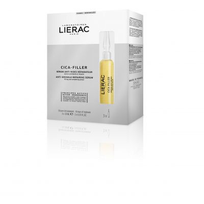 Lierac Cica-Filler Sérum anti-rides réparateur Ampoules 3x10ml