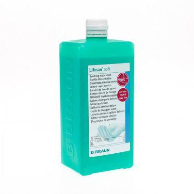 Lifosan soft milde waslotion Vloeibare zeep 1l