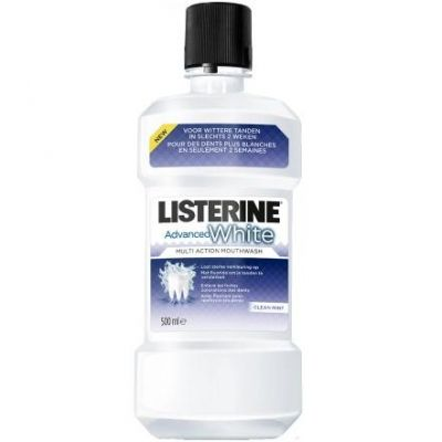 Listerine Advanced White Mundspülung 500ml