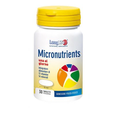 Longlife Micronutrients Compresse 30 pezzi