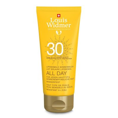 Louis Widmer All day SPF30 non parfumé Crème 100ml