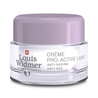 Louis Widmer Crème Pro-active light zonder parfum Emulsie 50ml