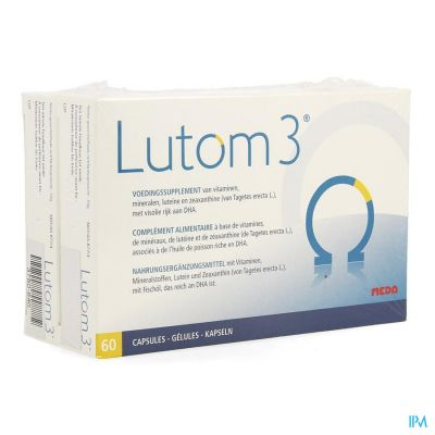 Lutom 3 duopack Capsules 2x60 pièces