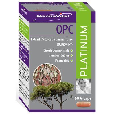 Mannavital Platinum OPC  Cápsulas 60 unidades