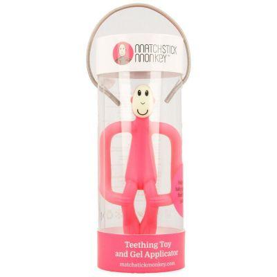 Matchstick Monkey anneau de dentition rose 1 pièces